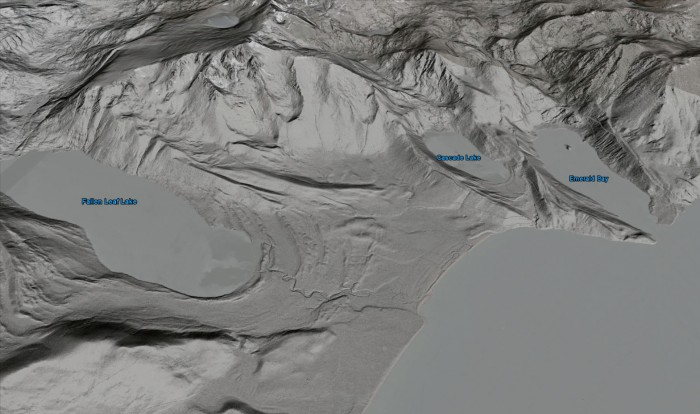 Lake Tahoe Basin Lidar Data Released OpenTopography - Google earth elevation data